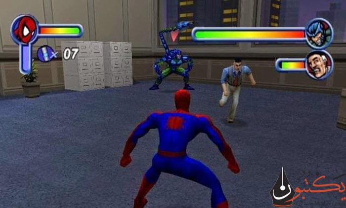 تحميل لعبة سبايدر مان 1 Spider Man للكمبيوتر من ميديا فاير