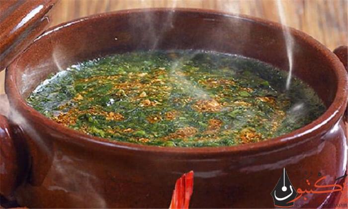 طريقة عمل طشة الملوخية المصرية | طشة الملوخية الحارة